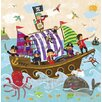 Oopsy Daisy Swashbuckling Good Time Canvas Art