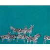 Oopsy Daisy Zebras Among Us Canvas Art