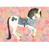 Oopsy Daisy Floral Filly by Pim Pimlada Canvas Art