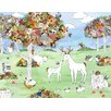 Oopsy Daisy Botanic Forest by Katie Vernon Canvas Art