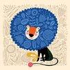 Oopsy Daisy His Royal Spirit by Helen Dardik Canvas Art
