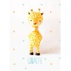 Oopsy Daisy Paper Mache Giraffe by Paola Zakimi Canvas Art