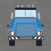 Oopsy Daisy Ways to Wheel Mac Truck Canvas Art