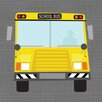 Oopsy Daisy Ways to Wheel School Bus Canvas Art