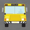 Oopsy Daisy Ways to Wheel School Bus by Vicky Barone Personalized Canvas Art