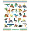 Oopsy Daisy ABC's by Eric Carle Personalized Canvas Art