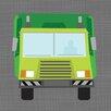 Oopsy Daisy Ways to Wheel Sanitation Truck Canvas Art