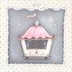 Oopsy Daisy La Belle Cirque Coach Cupcake Canvas Art