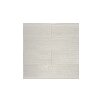 "The Bella Collection 12"" x 3"" Linen Tile in Snow"