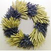 Konesar Birch, French Lavender and Wheat Wreath