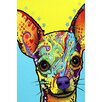 "iCanvas ""Chihuahua l"" by Dean Russo Graphic Art on Wrapped Canvas"