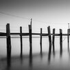 iCanvas China Camp Pano, by Moises Levy Part 1 of 3 Photographic Print on Canvas in Black / White