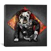 iCanvas 'Bad Dog' by Maximilian San Graphic Art on Canvas