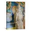iCanvas Buddhist Statue Photographic Print on Canvas