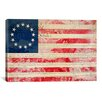 iCanvas Betsy Ross, U.S. Flag 13 Stars Graphic Art on Canvas