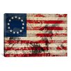 iCanvas Betsy Ross, U.S. Flag, Stars Graphic Art on Canvas
