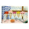 iCanvas Decorative Art Begonias A La Mode (Ice Cream Flower) Painting Print on Canvas