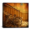 "iCanvas ""Bikes 4"" Canvas Wall Art by Dawne Polis"