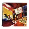 """iCanvas """"Burning House, 1913"""" Canvas Wall Art by Marc Chagall"""