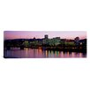 iCanvas Panoramic Buildings Lit up at Night Portland, Oregon Photographic Print on Canvas