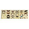 iCanvas 'Butterflies 12 Piece Plate Collection' by Cramer and Stoll Graphic Art on Canvas