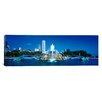 iCanvas Panoramic Buckingham Fountain Chicago, Illinois Photographic Print on Canvas