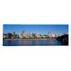 iCanvas Panoramic Buildings on the Waterfront Portland, Oregon Photographic Print on Canvas