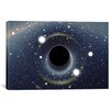 "iCanvas ""Black Hole MAXI Absorbing a Star"" Photographic Print on Wrapped Canvas"