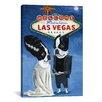 iCanvas 'BT Frank Vegas' by Brian Rubenacker Painting Print on Canvas