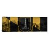 iCanvas Baltimore Flag, Grunge Skyline Panoramic Graphic Art on Canvas