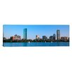 iCanvas Panoramic Buildings at the Waterfront, Back Bay, Boston, Massachusetts Photographic Print on Canvas