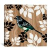 "iCanvas ""Bird Patchwork I"" Canvas Wall Art by Erin Clark"
