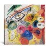 iCanvas Black Lines Wall Art on Canvas by Wassily Kandinsky Prints