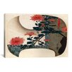 iCanvas Ando Hiroshige 'Chrysanthemums' by Utagawa Hiroshige l Graphic Art on Canvas