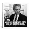 iCanvas Bill Clinton Quote Canvas Wall Art