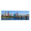iCanvas Panoramic Hawthorne Bridge, Willamette River, Multnomah County, Portland, Oregon 2010 Photographic Print on Canvas