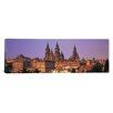 iCanvas Panoramic Cathedral in a Cityscape, Santiago De Compostela, La Coruna, Galicia, Spain Photographic Print on Canvas