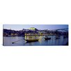 iCanvas Panoramic Boats Photographic Print on Canvas