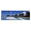 iCanvas Panoramic Buildings at the Waterfront, Waikiki Beach, Honolulu, Oahu, Hawaii Photographic Print on Canvas