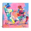 "iCanvas ""Baseball"" Canvas Wall Art by Richard Wallich"
