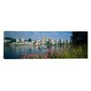 iCanvas Panoramic Boat in the Sea Portland, Oregon, 1999 Photographic Print on Canvas