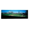 iCanvas Panoramic Baseball Match at Wrigley Field in Chicago, Illinois Photographic Print on Canvas