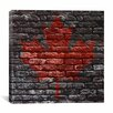 iCanvas Canadian Flag, Maple Leaf #11 Graphic Art on Canvas