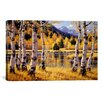 iCanvas 'Autumn Reflections' by Randy Van Beek Painting Print on Canvas