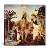 """iCanvas """"Batismo de Cristo"""" by Leonardo da Vinci Painting Print on Canvas"""