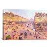 iCanvas 'Avenue de L'Opera'  by Camille Pissarro Painting Print on Canvas