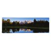 iCanvas Panoramic Beaver Pond Grand Teton National Park, Wyoming Photographic Print on Canvas