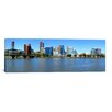 iCanvas Panoramic Buildings at the Waterfront, Portland Rose Festival, Portland, Multnomah County, Oregon Photographic Print on Canvas