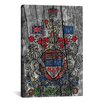 iCanvas Canada, Coat of Arms #7 Graphic Art on Canvas