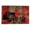 iCanvas Canadian Military Army #2 Graphic Art on Canvas